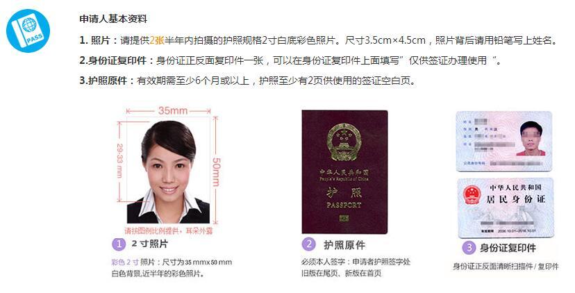 马来西亚签证办理流程