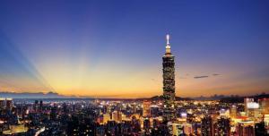 台湾自由行-台北101大楼