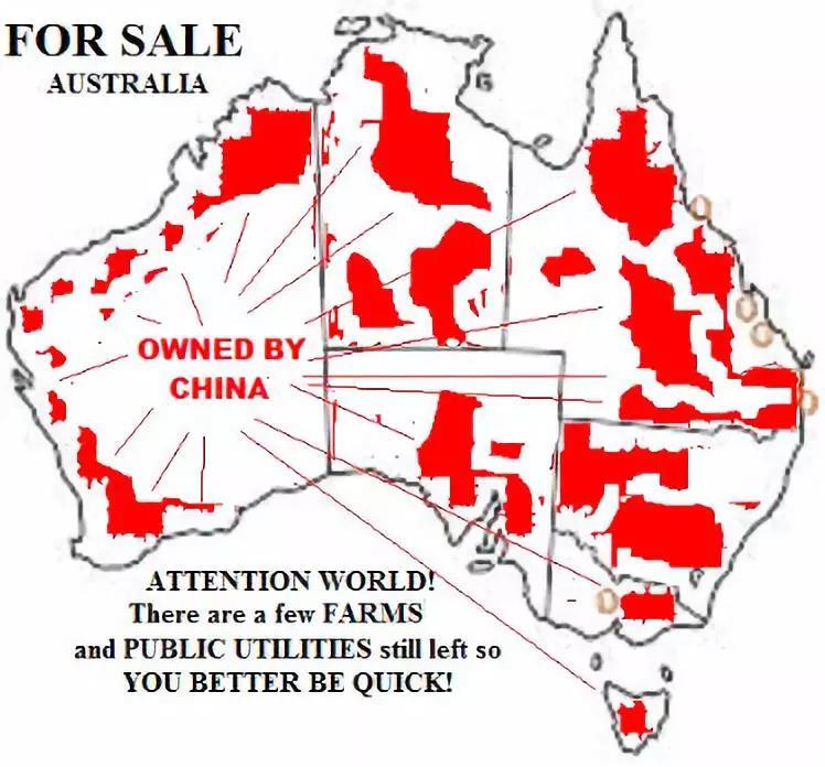 澳洲这些地区已经写上了属于中国的名字
