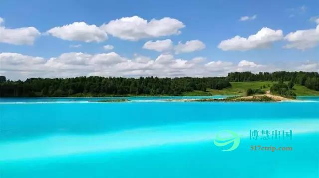 """俄罗斯网红湖泊有毒?""""马尔代夫蓝""""背后居然藏着这个秘密"""