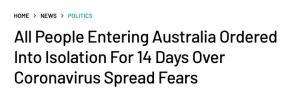 突发!所有人入境澳洲都需要隔离14天!莫里森刚刚宣布入境新条例!